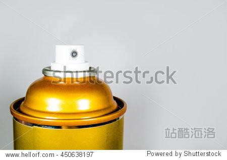 metal spray bottle background