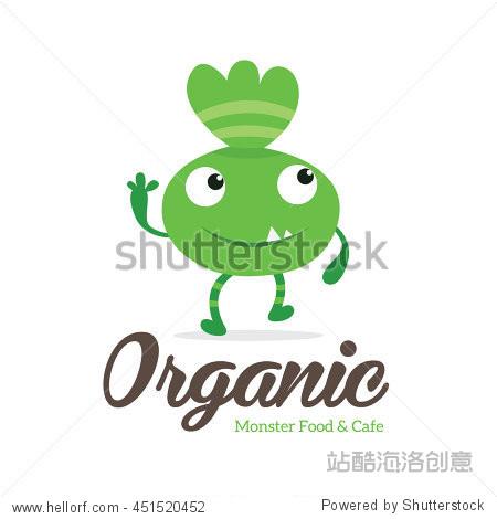 Organic Food Monster logo