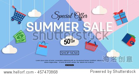 Sale Discount background for the online store  shop  promotional leaflet  poster  banner. Vector eps 10 format.