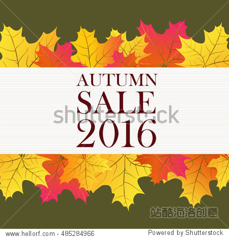 Autumn Sale 2016 Lettering and Leaves