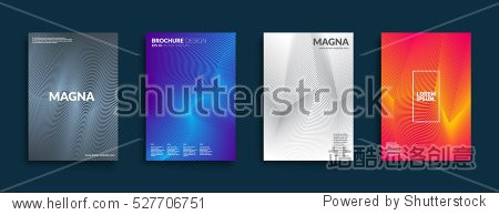 Covers with geometric design. Applicable for Banners  Placards  Posters  Flyers and Banner Designs. Eps10 vector template.