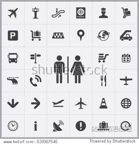 WC icon. airport icons universal set for web and mobile