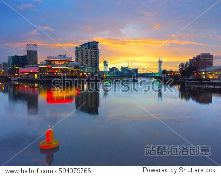 Media City  Manchester. UK.