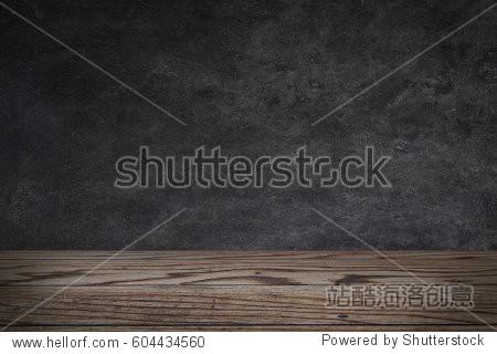 Chalkboard on a wood deck