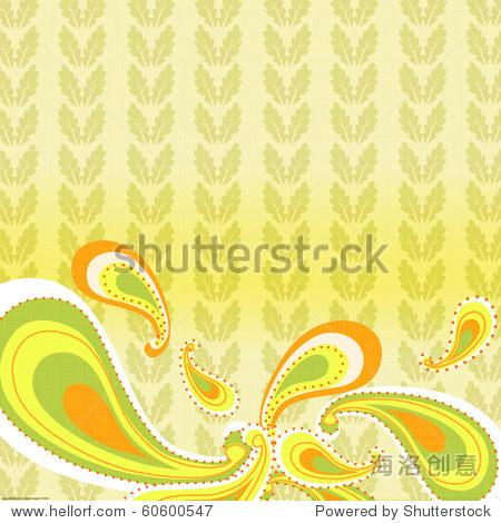 paisley print background
