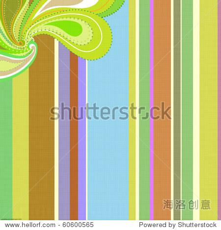 Paisley stripe background