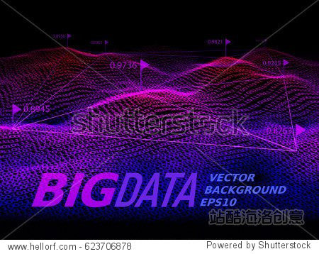 Big data. Binary code background. Eps10. RGB Global colors