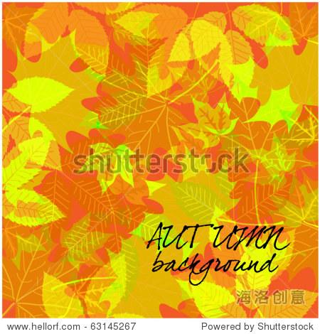 art autumn vintage background