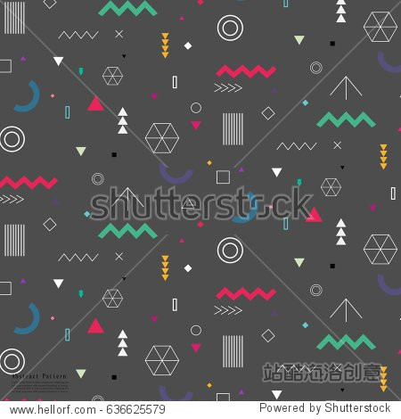 Geometric Flat Pattern.