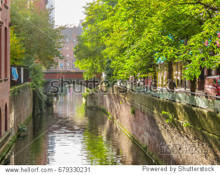 Rochdale Canal  Manchester  England (UK)