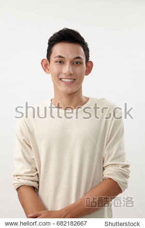 portrait of malay boy looking at camera