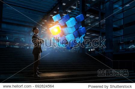 Innovative technologies integration. Mixed media