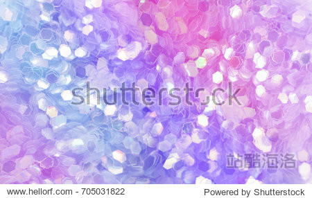 Pink purple and violet lilac glistening sequins. Sequins texture closeup macro