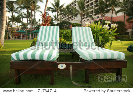 Lounge Chairs just waiting for you to enjoy