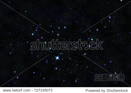 Galaxian starry