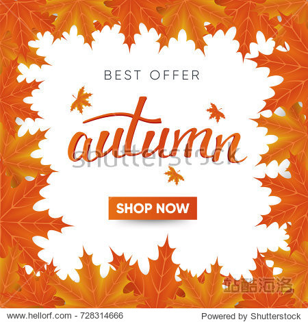 Autumn special offer post
