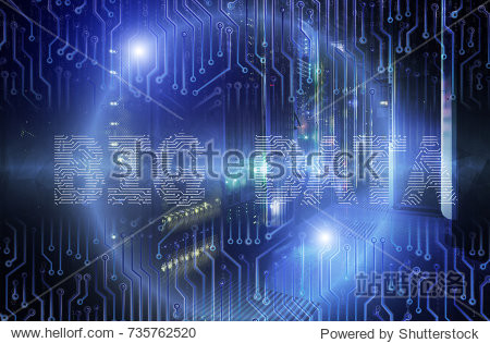 big data text graphics over mainframe in the data center rows