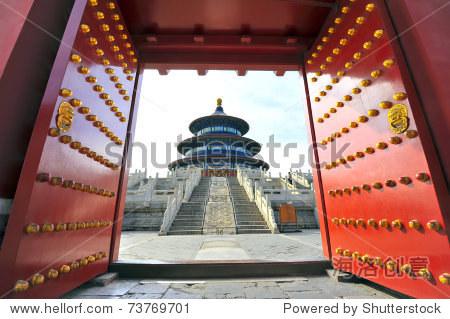 Temple of Heaven in Beijing (Tiantan)