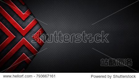 grid metal design background