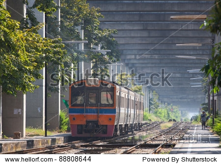 train of thailand