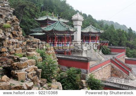 summer palace pavilion at Beijing