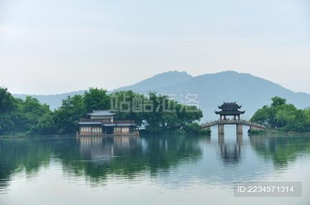 杭州曲院风荷风景