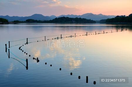 杭州西湖风光