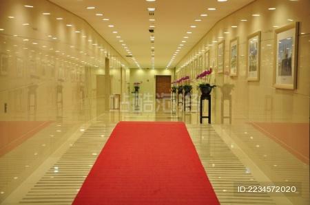 浙江省人民大会堂内部的走廊
