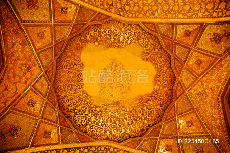 伊朗伊斯法罕王宫的穹顶