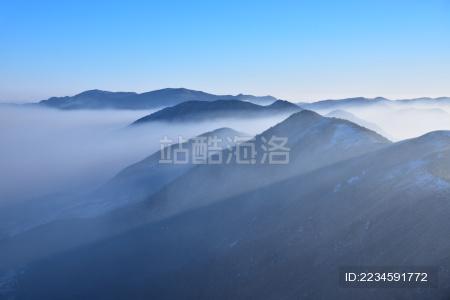 浙西三尖雪景