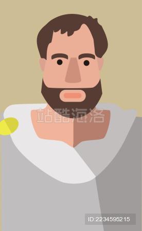 大胡子希腊人