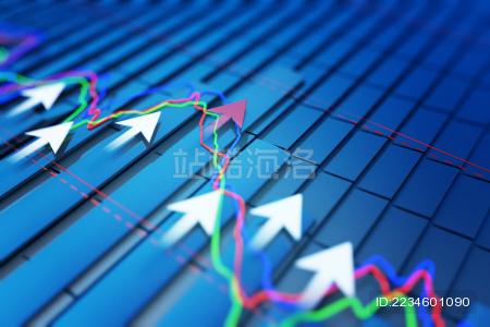 经济发展的上升趋势