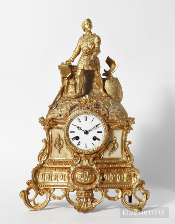 古典旧式老式钟表座钟古董欧式