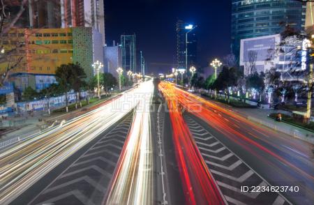 昆明城市风光及夜景