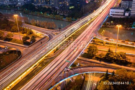 杭州城市夜景