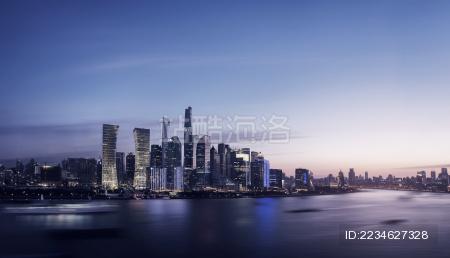 中国上海浦东夜景
