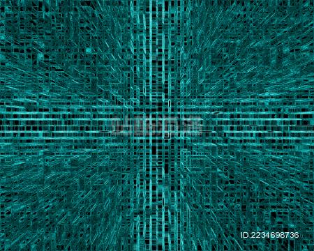 蓝色科技互联网大数据背景