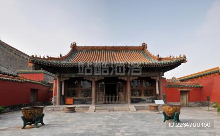 沈阳故宫颐和殿 Shenyang imperial palace and the temple
