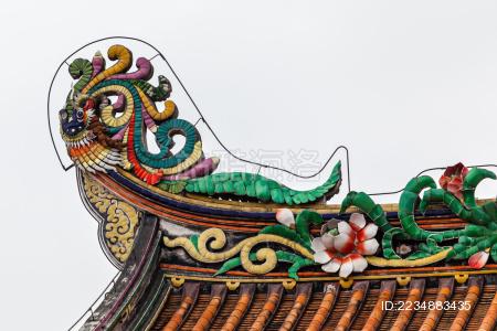 中国广东潮州古城开元寺