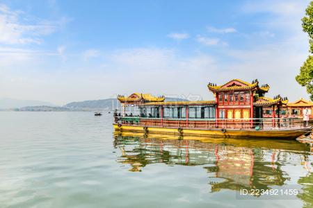 杭州西湖游船