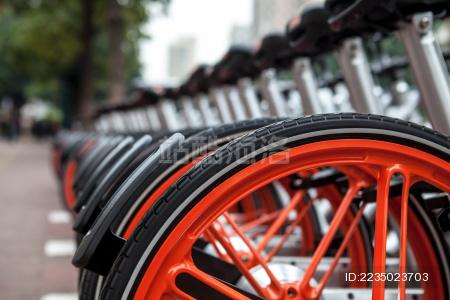 共享自行车 公共自行车