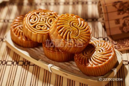 中秋月饼创意图