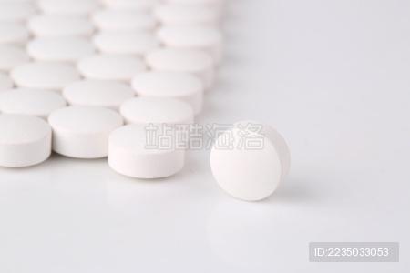 白色的药片