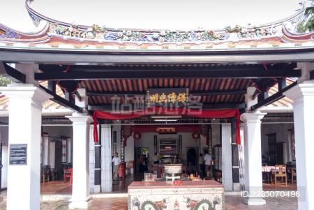 马六甲古城——三保庙