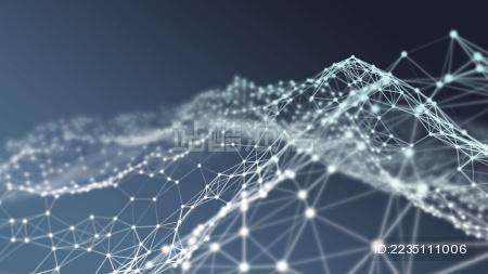 大数据抽象科技感背景图