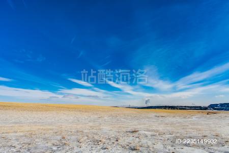 锡林郭勒盟草原自然景观