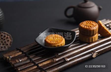 文化传统美食月饼