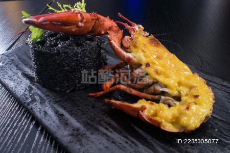 波龙煤饼饭 波龙 大龙虾