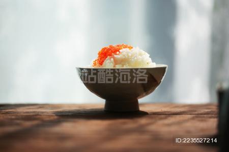 一人食米饭