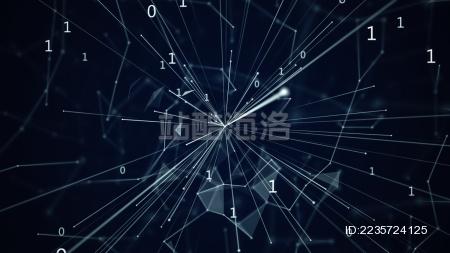 大数据区块链科技科学背景图片